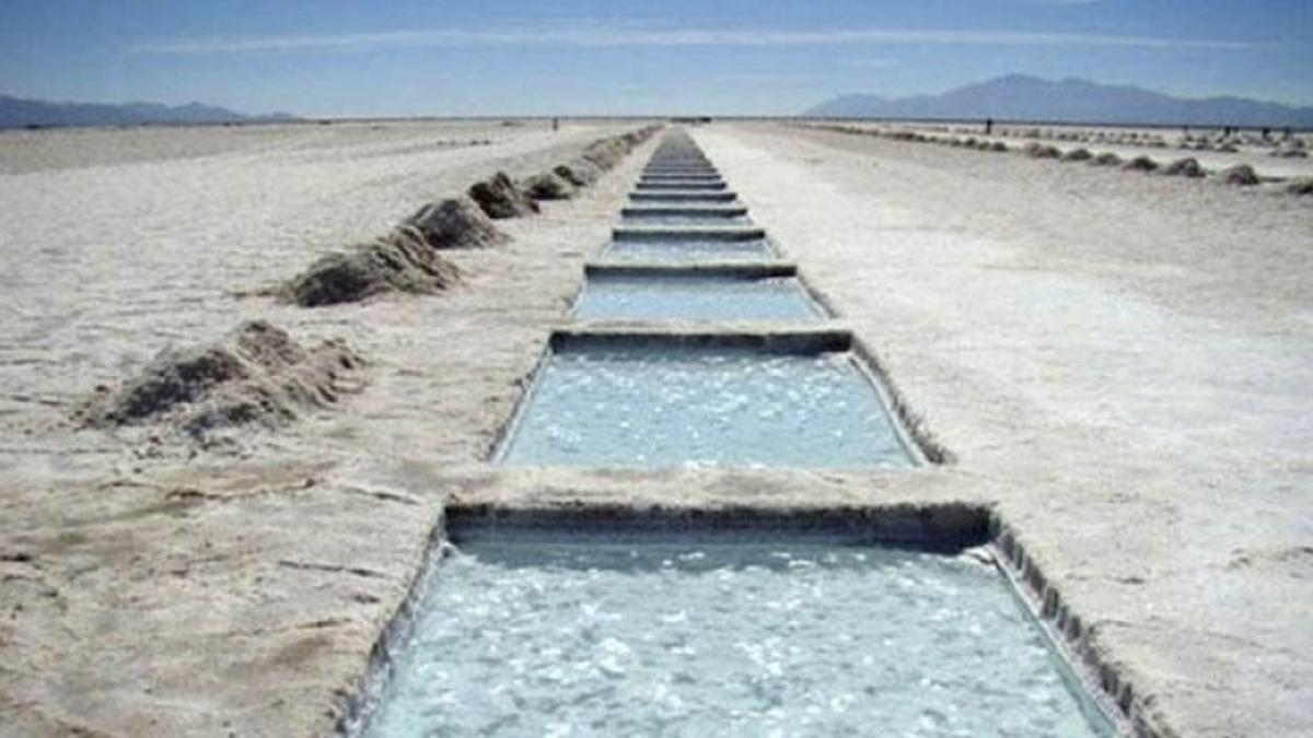 La Argentina es la tercera productora de litio y la tercera reserva del mundo.