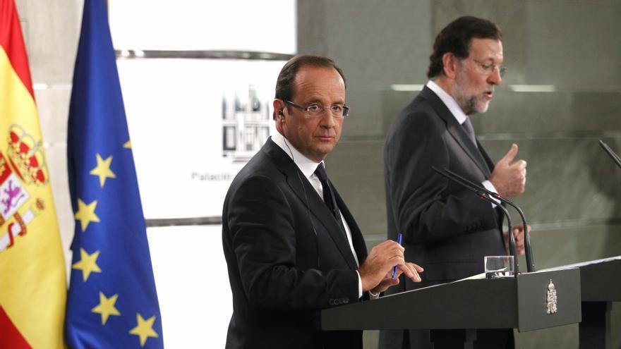 Rajoy y Hollande analizan este martes en París el acuerdo sobre Chipre y la situación de la 'zona euro'