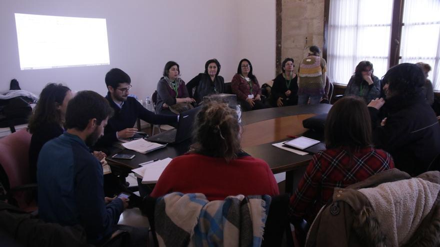 Reunión de Podemos con animalistas.