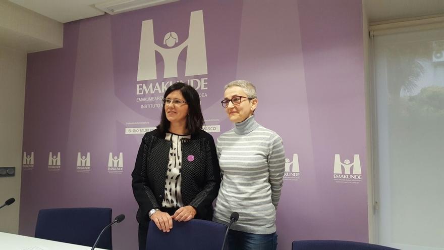 La doctora en matemáticas y responsable del blog 'Mujeres con ciencia' Marta Macho, Premio Emakunde 2016