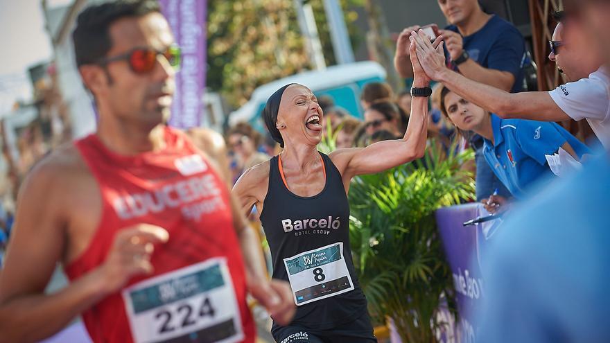 Sonia Prieto, ganadora femenina de la carrera