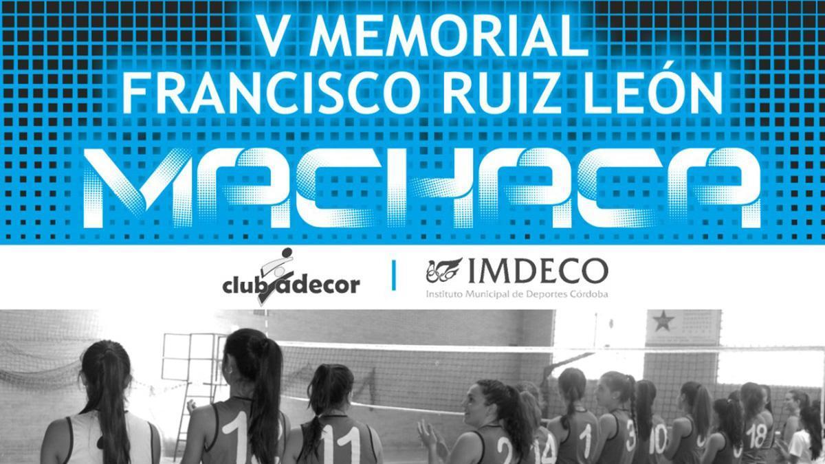 Cartel promocional del V Memorial Francisco Ruiz León Machaca