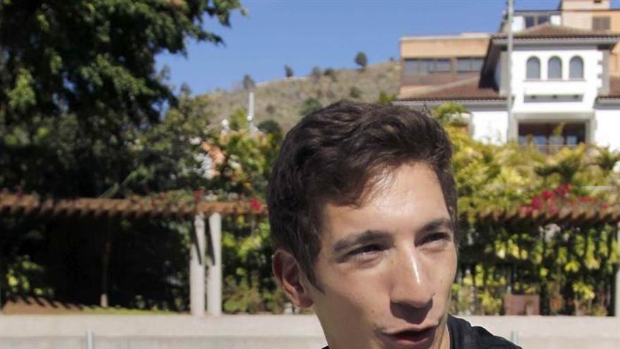 El capitán del Iberostar Tenerife, el argentino Nicho Richotti