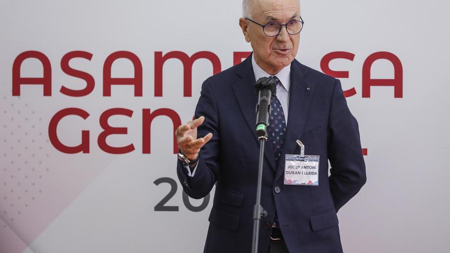 El exportavoz de CiU en el Congreso y exlíder de Unió Democràtica, Josep Antoni Duran i Lleida