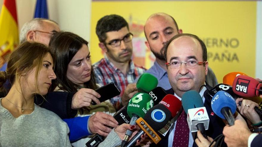 """Iceta ve """"error"""" vía de referéndum de Puigdemont y ofrece al PSC para diálogo"""