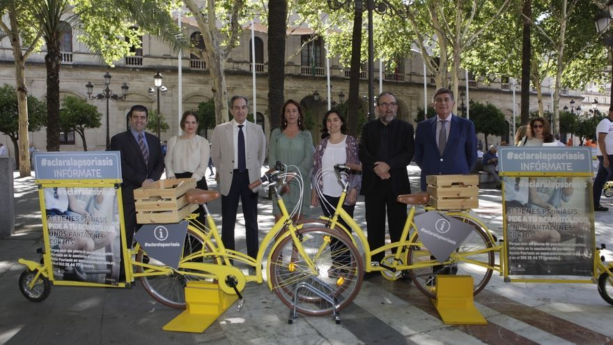 Llega a Sevilla la campaña de concienciación y activación 'Aclara la psoriasis', que afecta a unos 190.000 andaluces