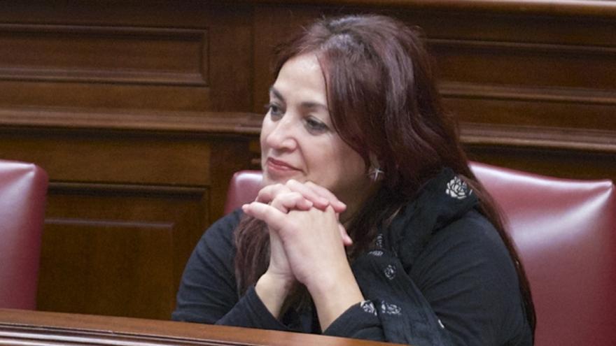 María del Río, diputada de Podemos en el Parlamento de Canarias