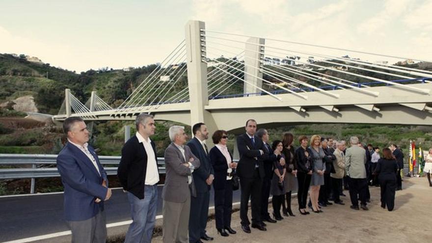 De la inauguración del viaducto #10