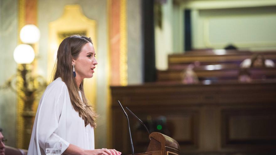 Melisa Rodríguez, portavoz adjunta de Ciudadanos  (C's) en el Congreso de los Diputados.