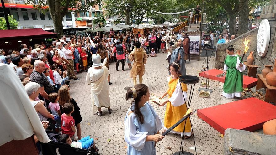El Mercado Romano de los Santos Mártires, del 24 al 26 de agosto en la Alameda de Oviedo
