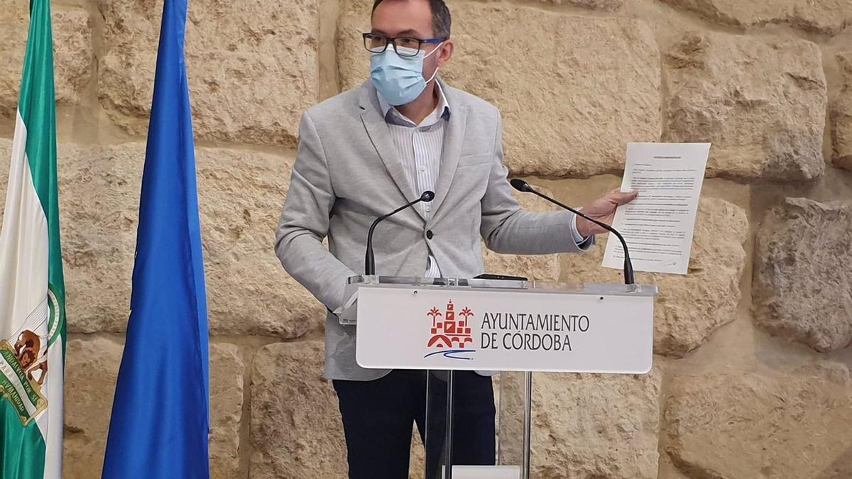 El concejal del Grupo Socialista José Antonio Romero.