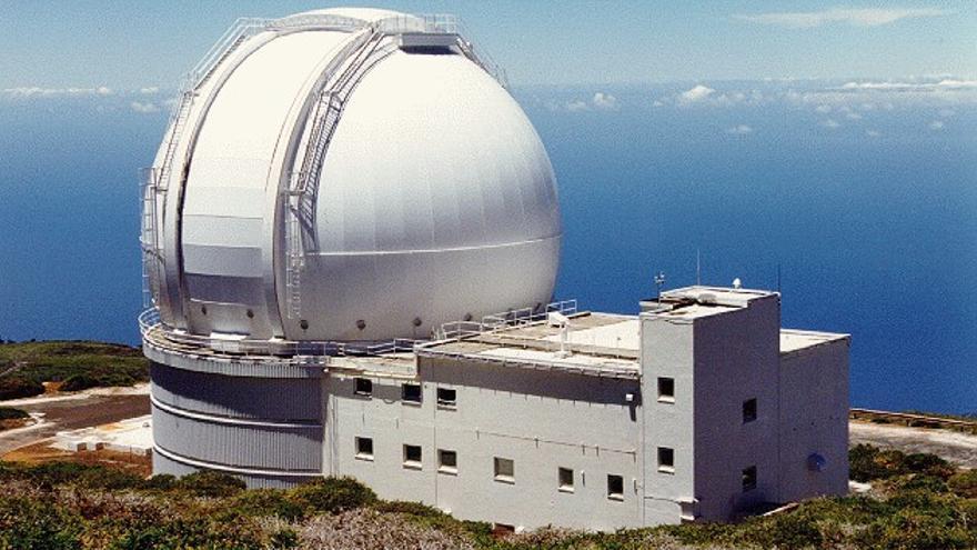 Imagen de archivo del telescopio William Herschel situado en El Roque de Los Muchachos.