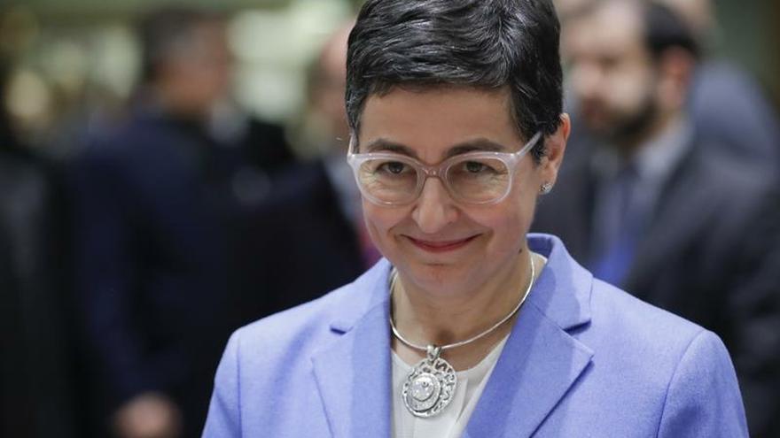 La ministra de Exteriores, Arancha González.