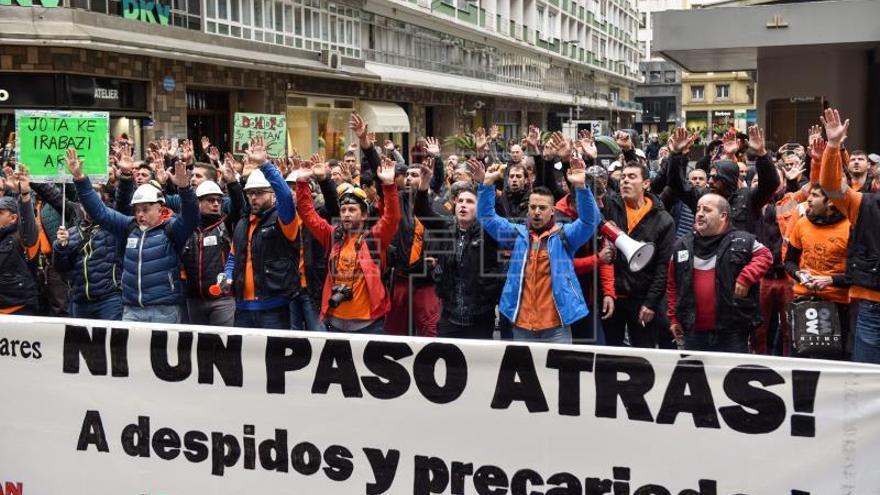 Los trabajadores de Productos Tubulares deciden desconvocar la huelga indefinida