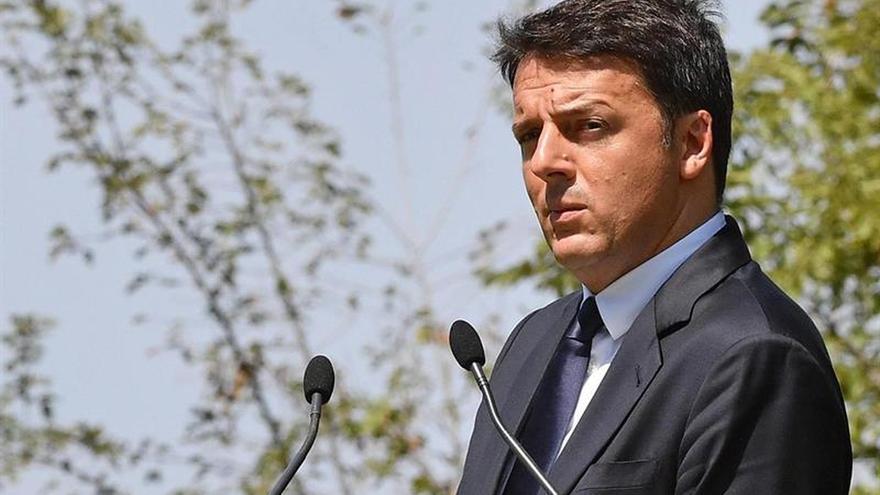 """Renzi rechaza una intervención pública en la banca italiana por """"cuestión de justicia"""""""