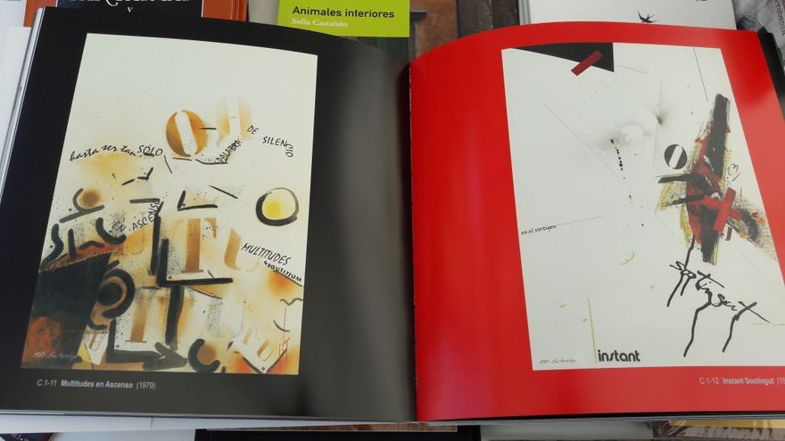Poesía visual de Gustavo Vega