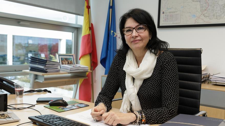 La directora general de Turismo de Cantabria, Eva Bartolomé.