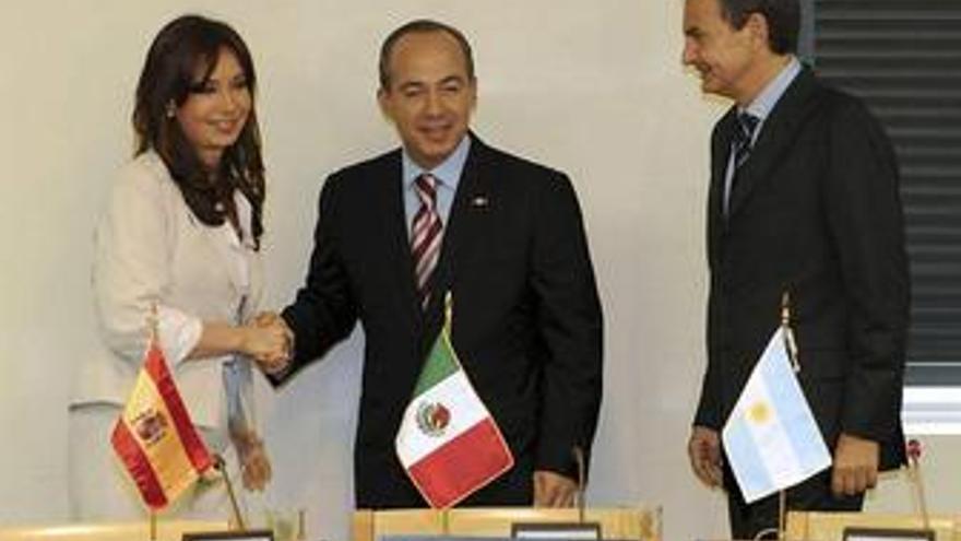 Zapatero, Calderón, Fernández