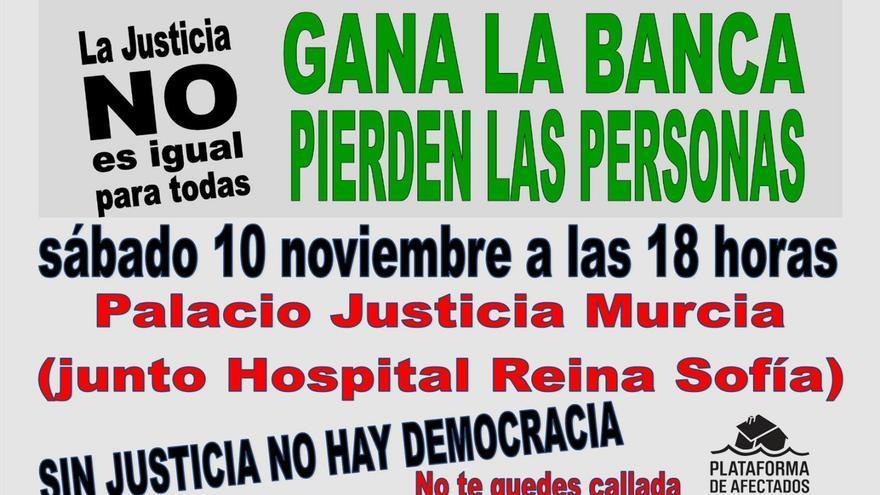 Convocada una concentración contra la resolución del Tribunal Supremo en Murcia
