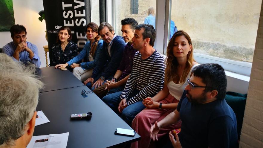 Cineastas andaluces en el encuentro de Panorama Andaluz del Festival de Sevilla