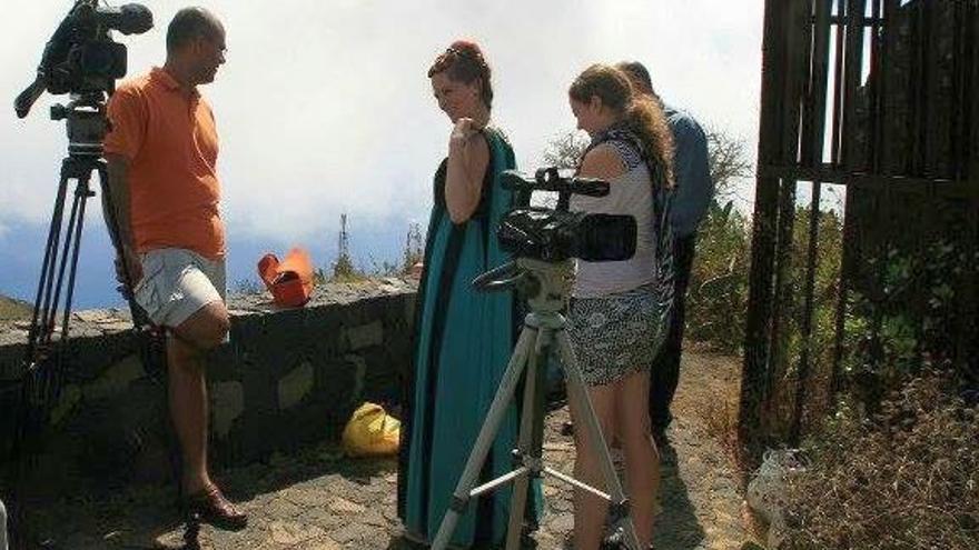 Imagen de archivo de una actividad enmarcada en el Festival de Cine Astronómico Tiempo Sur.