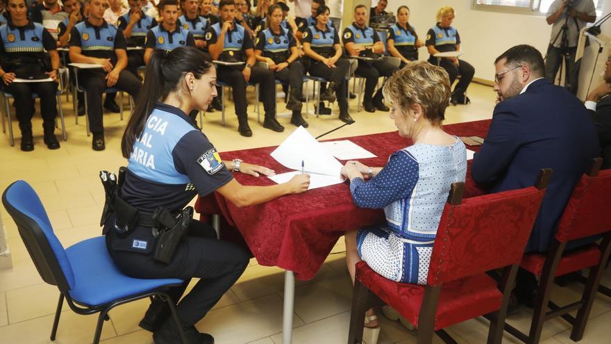 Nombramiento de los nuevos agentes de Policía Local de Las Palmas de Gran Canaria.