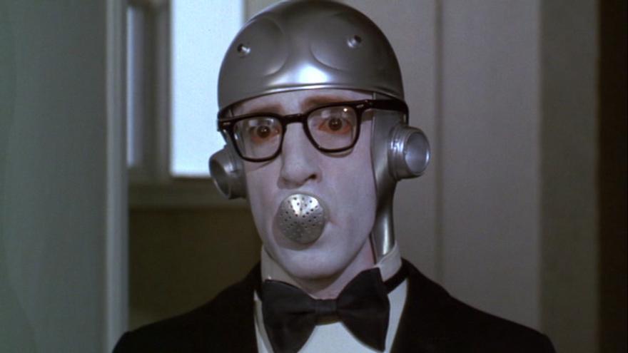 Woody Allen en 'El dormilón'
