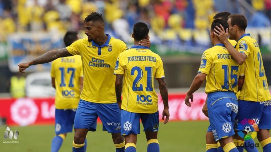 Imagen del encuentro entre la UD Las Palmas y el Granada CF.