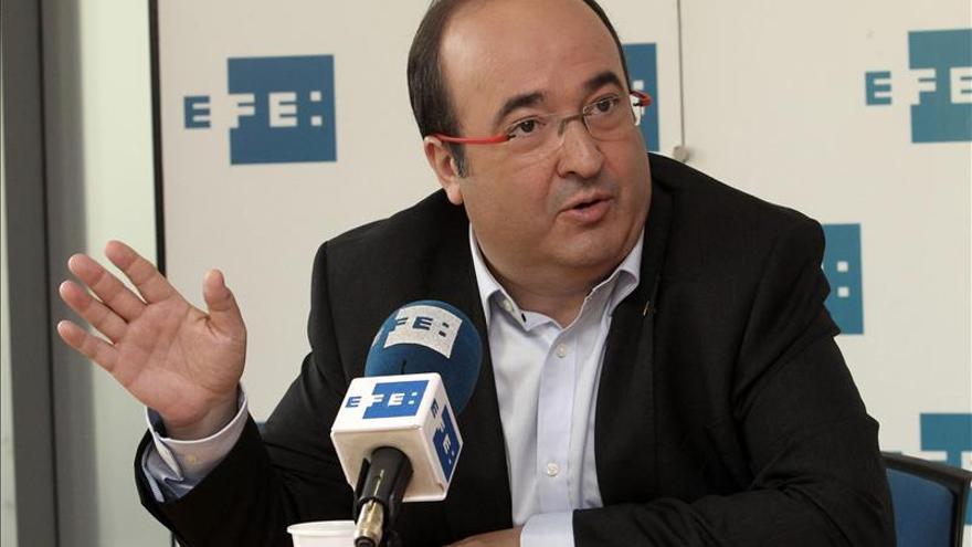 """Iceta (PSC) pide a Mas y Rajoy que emulen a Fraga y Carrillo y """"dialoguen"""""""