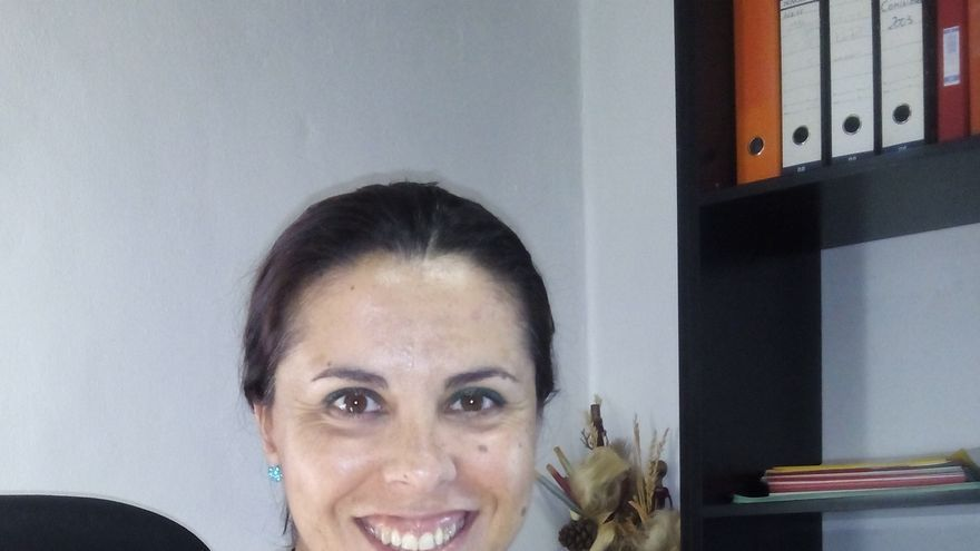 La concejal Mari Carmen Acosta.