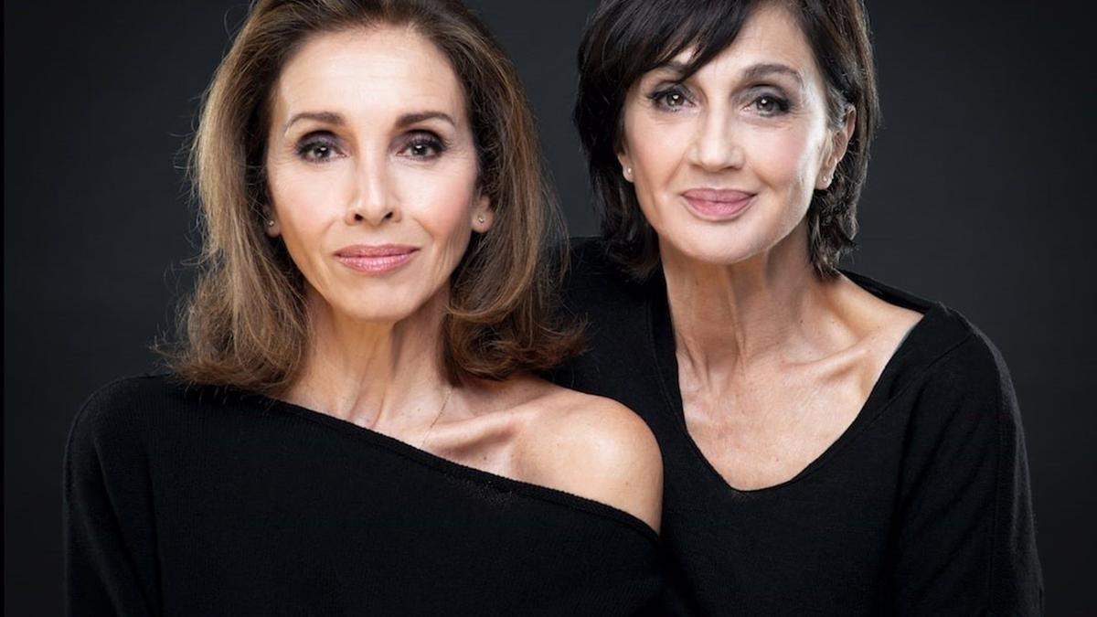 Ana Belén junto a Silvia Munt, directora de 'Eva contra Eva'.