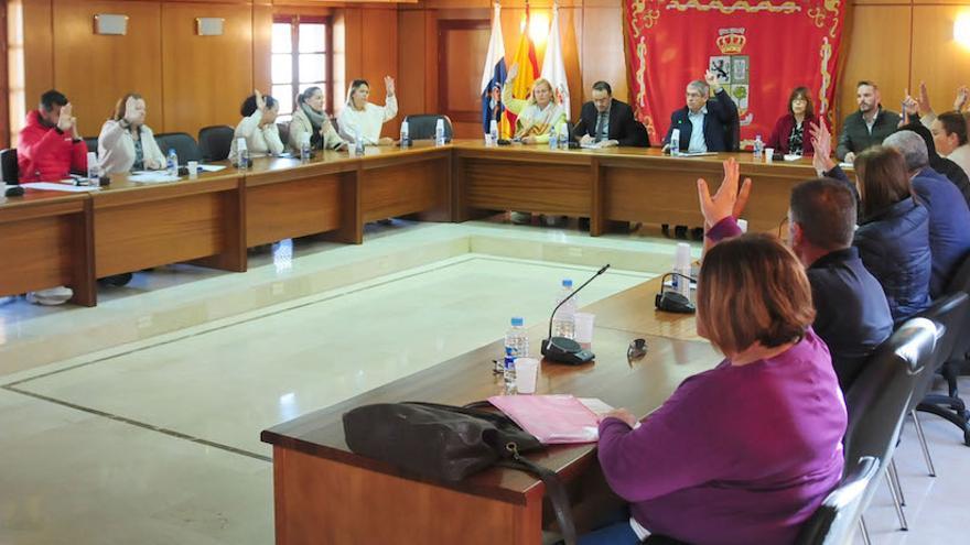 Pleno extraordinario del pleno del Ayuntamiento de San Bartolomé de Tirajana.