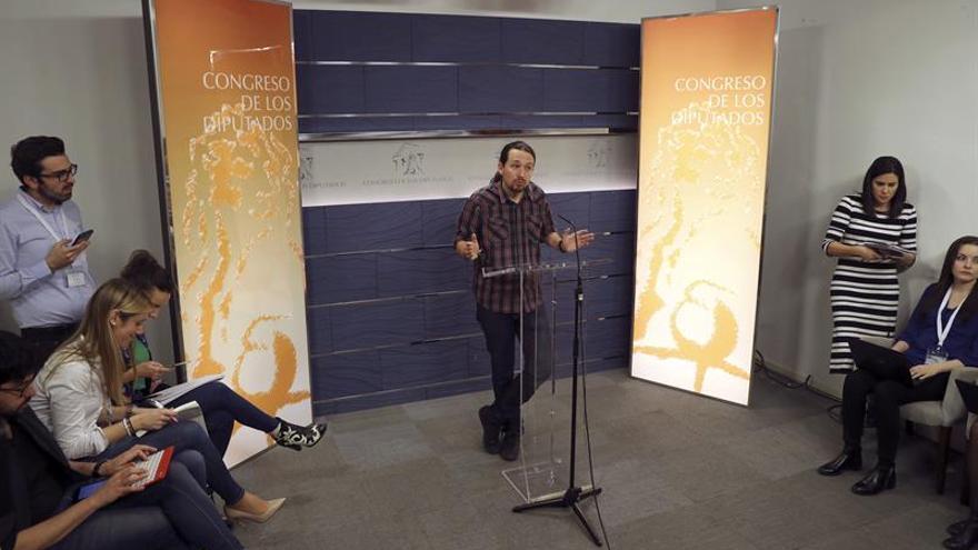 Podemos pide que Rubalcaba comparezca en la comisión sobre escuchas de Fernández Díaz