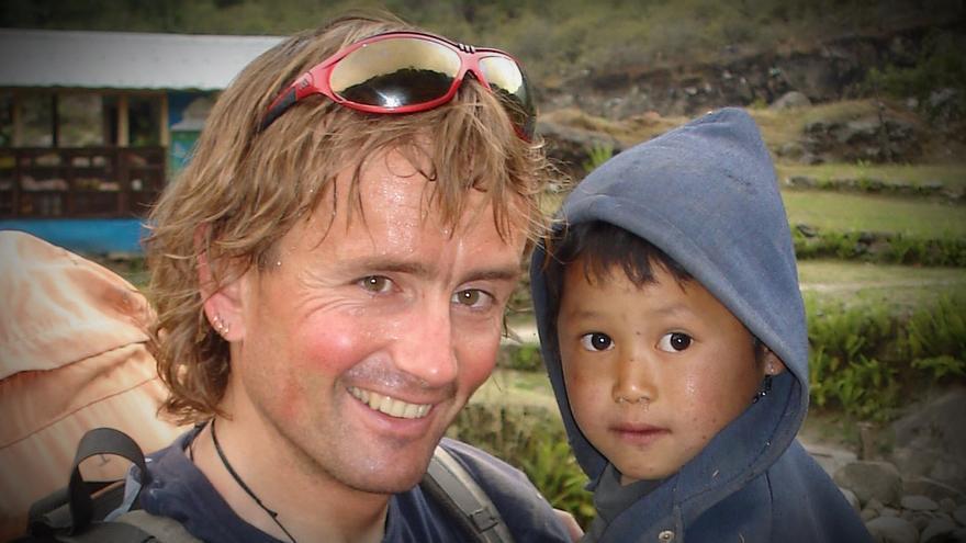 Iñaki Ochoa de Olza en el Himalaya.
