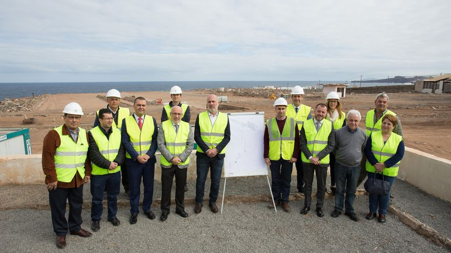 Presentación de la mayor planta fotovoltaica en suelo de Gran Canaria