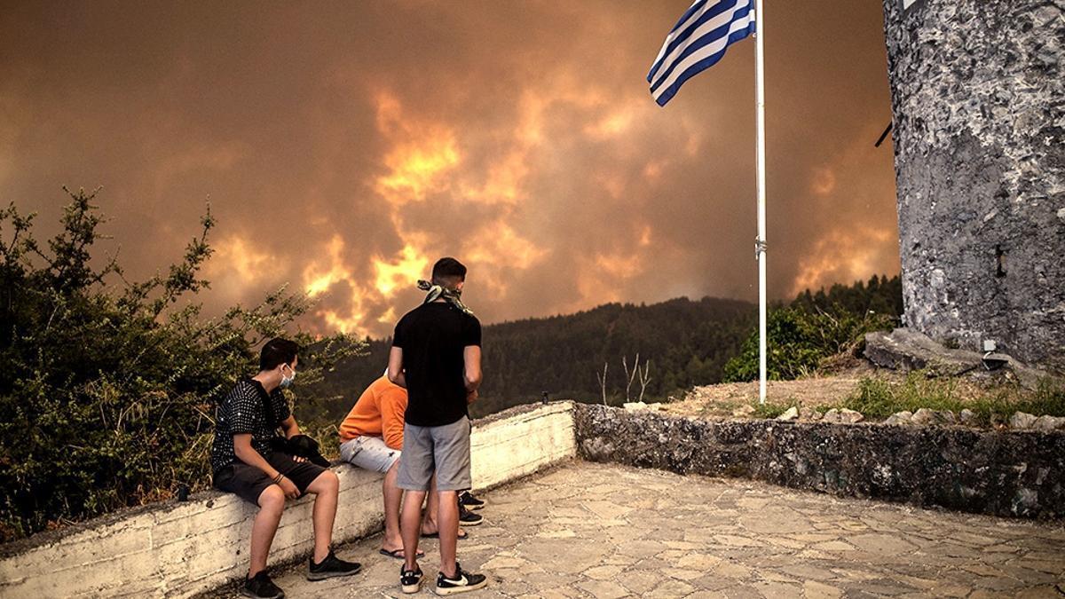Las llamas arrasaron más de 56.000 hectáreas, según el Sistema de Información Europeo de Incendios Forestales.