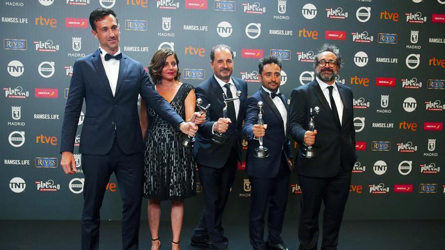 El Monstruo de Bayona triunfa en los Premios Platino emitidos por TVE