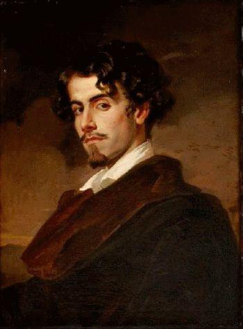 Retrato del poeta sevillano Gustavo Adolfo Bécquer