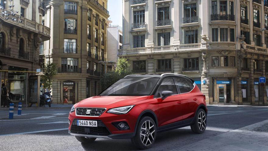 El Seat Arona deriva del superventas Ibiza, adoptando una carrocería tipo SUV.