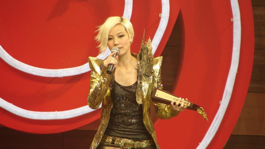 Una imagen de la cantante Denise Ho en 2007.