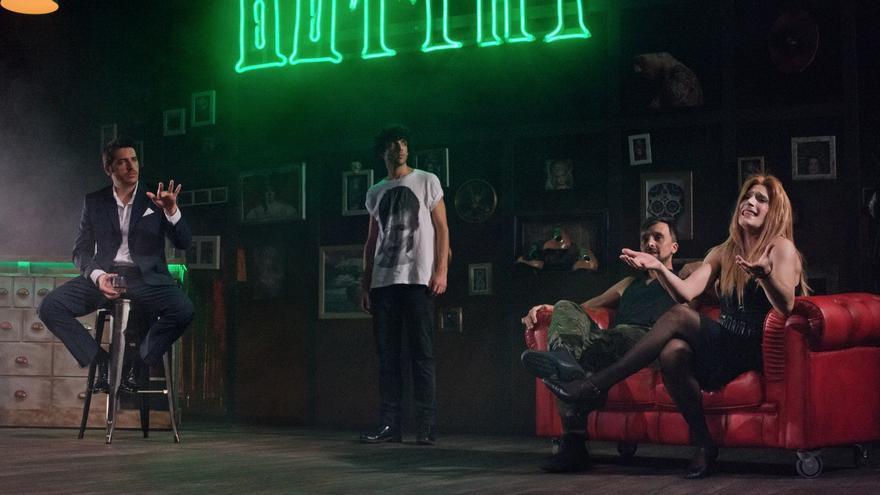 Escena de la obra 'El Cabaret de los hombres perdidos'