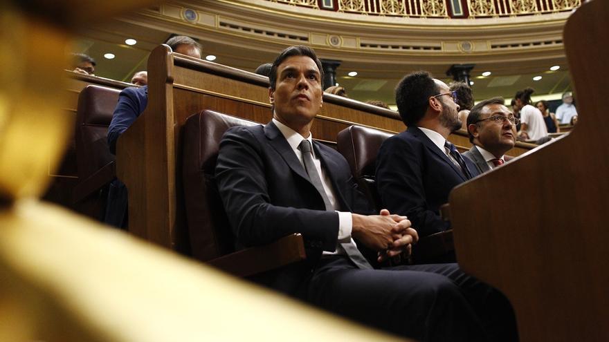"""Sánchez llama a las fuerzas del cambio a actuar con """"altura de miras y generosidad"""" para solucionar el """"atasco político"""""""