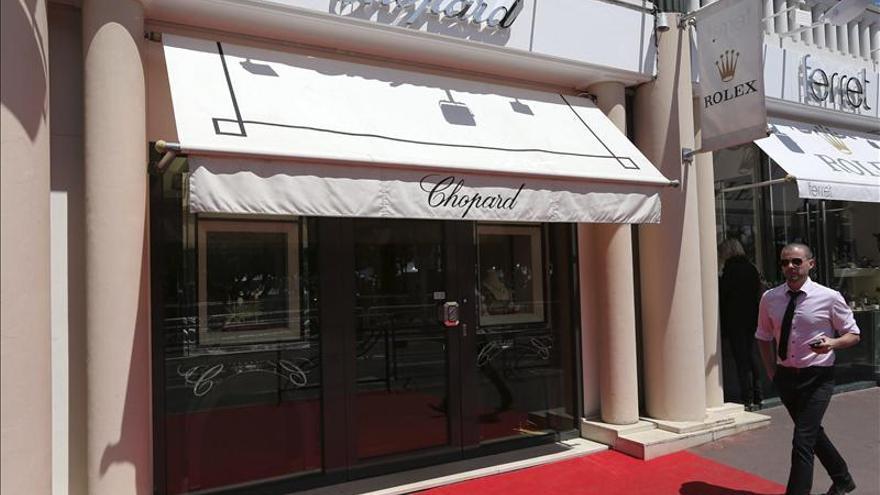 Robo en Cannes de joyas de Chopard por valor de un millón de dólares