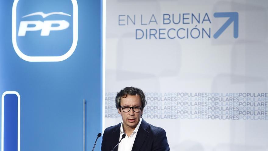 Carlos Floriano, vicesecretario de Organización del PP y director de la campaña.