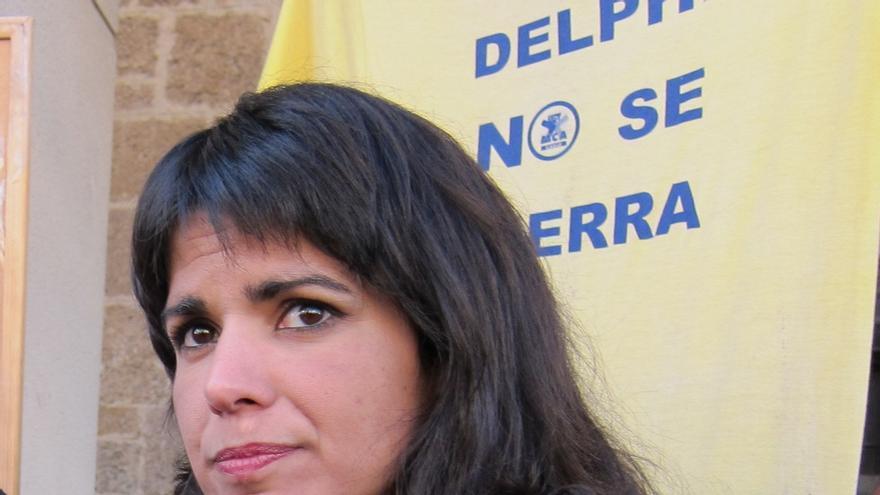 """Teresa Rodríguez replica a Alegre que """"quienes conocemos esta tierra sabemos que podemos y debemos ganar Andalucía"""""""