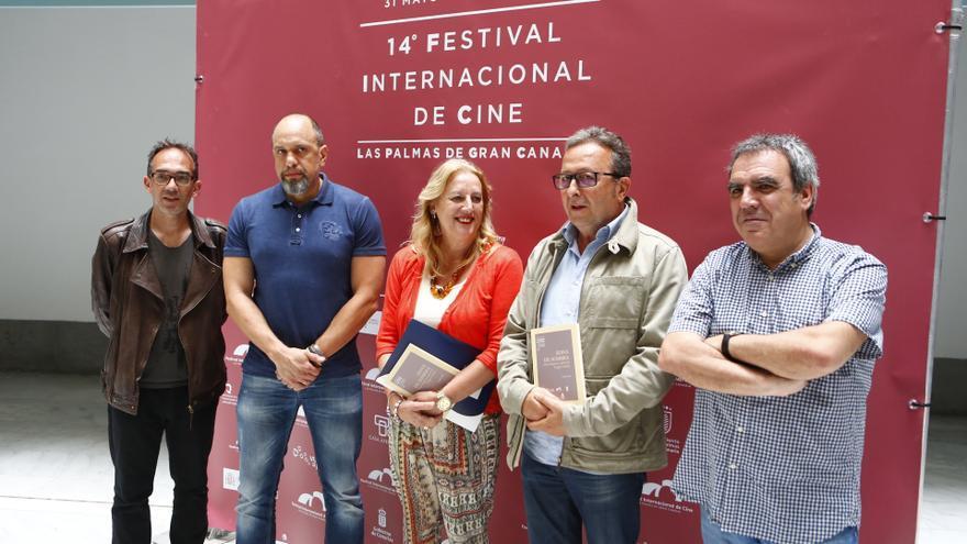 Presentación libro: Zona de sombra. Festival de Cine de Las Palmas de Gran Canaria 2014.