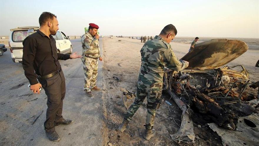 Fuerzas iraquíes lanzan una ofensiva para liberar una ciudad del oeste de Irak del EI