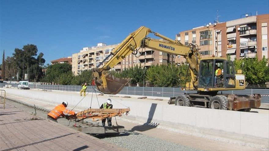 Inicio obras Adif en Murcia primera fase de soterramiento