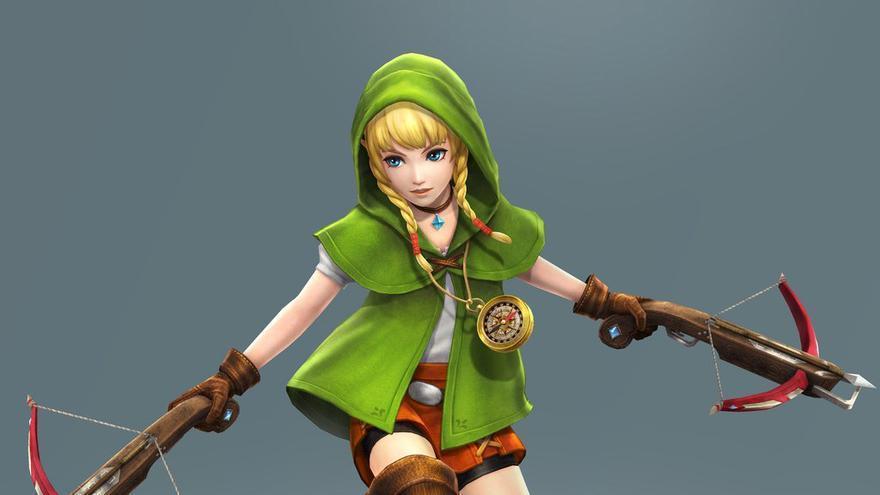 Linkle, la versión femenina de Link