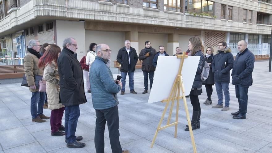 Finaliza Iturrama Nuevo con la creación de una plaza, una nueva calle peatonal y la ampliación de Monasterio de Urdax